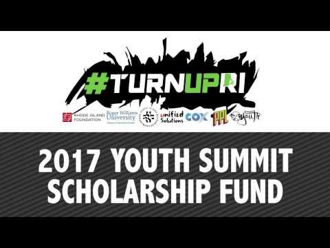 TURNUPRI 2017 Youth Summit Scholarship Fund Video