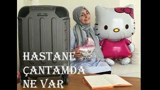 Hastane Çantamda Ne Var | Baby Hospital Bag | 38 Hafta | hacercemrekaplan