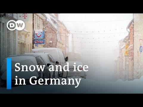 Heavy snow and ice disrupt traffic and public transport across Germany | DW News