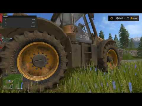 Farming Simulator 17, 4real module's - Tire Dirt & Ground Response.
