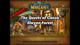 The Quests of Classic Elwynn Forest