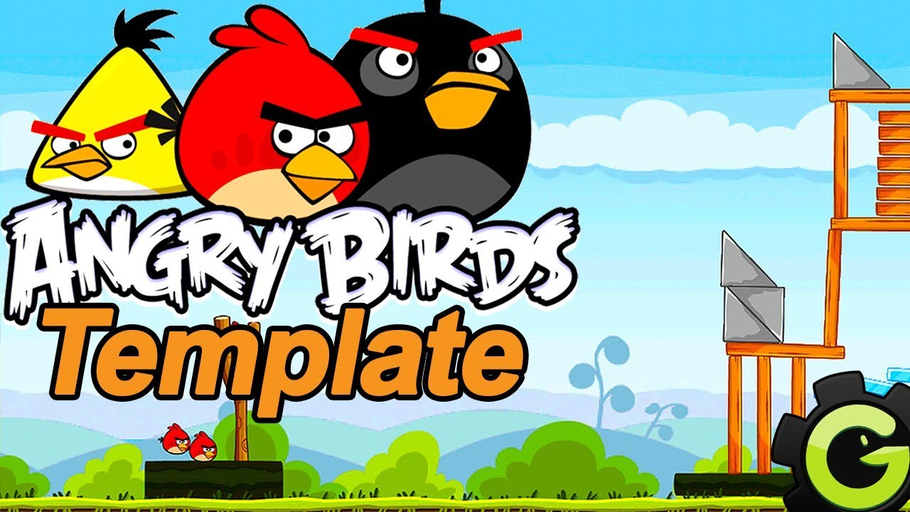 angry birds template free gms1 android ios windows monetize