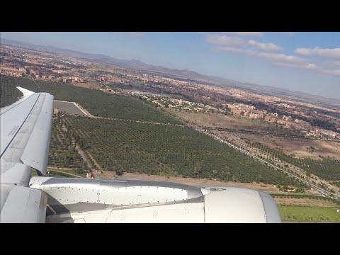 [4K] Marrakesh to Fes | Air Arabia Maroc A320-200 | *Full Flight*