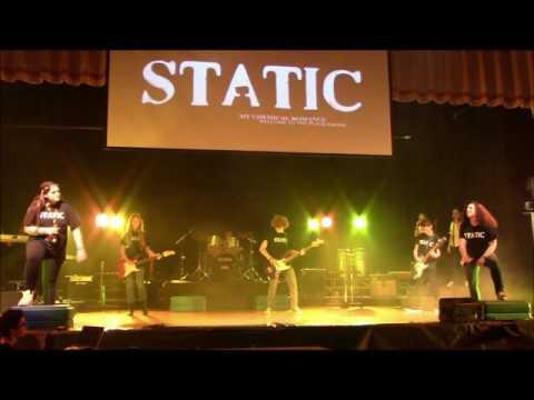 Static Back in Black 'n Gold Band (05/19/16)