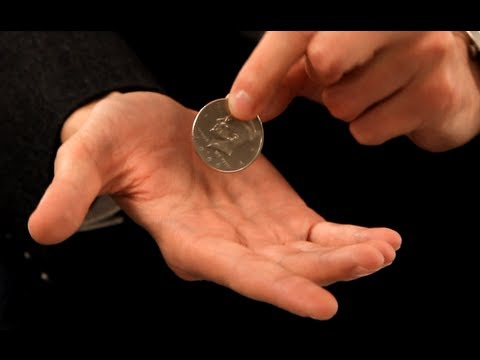 How to Palm a Coin | Coin Tricks - YouTube