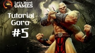 Mortal Kombat 9: Komplete Edition #5 Обучение Goro [Tutorial][Fatality][PC]