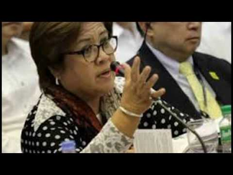 Breaking!! Leila de Lima Pinalabas Sa Conference Hall In Berlin, Germany
