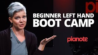 Beginners Left Hand Bootcamp (Piano Lesson)