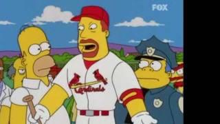 Momentazo Los Simpsons Batear Batear!! Focusin