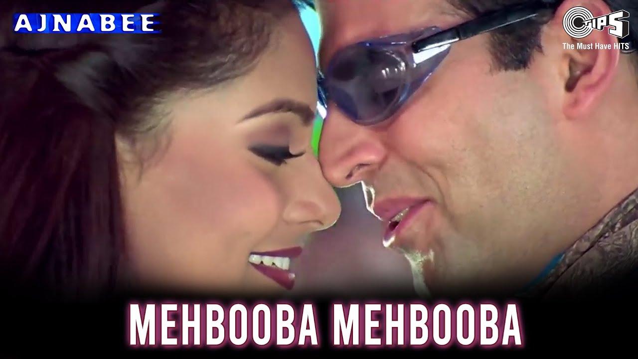 Mehbooba Mehbooba | Ajnabee Songs | Akshay Kumar | Bipasha Basu | Adnan Sami | Sunidhi Chauhan