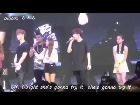 [FANCAM] 151206 GOT7 Fanmeet SG - Charades Part II