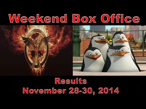 Weekend box office results november 28 30 2014 youtube - Movie box office results this weekend ...