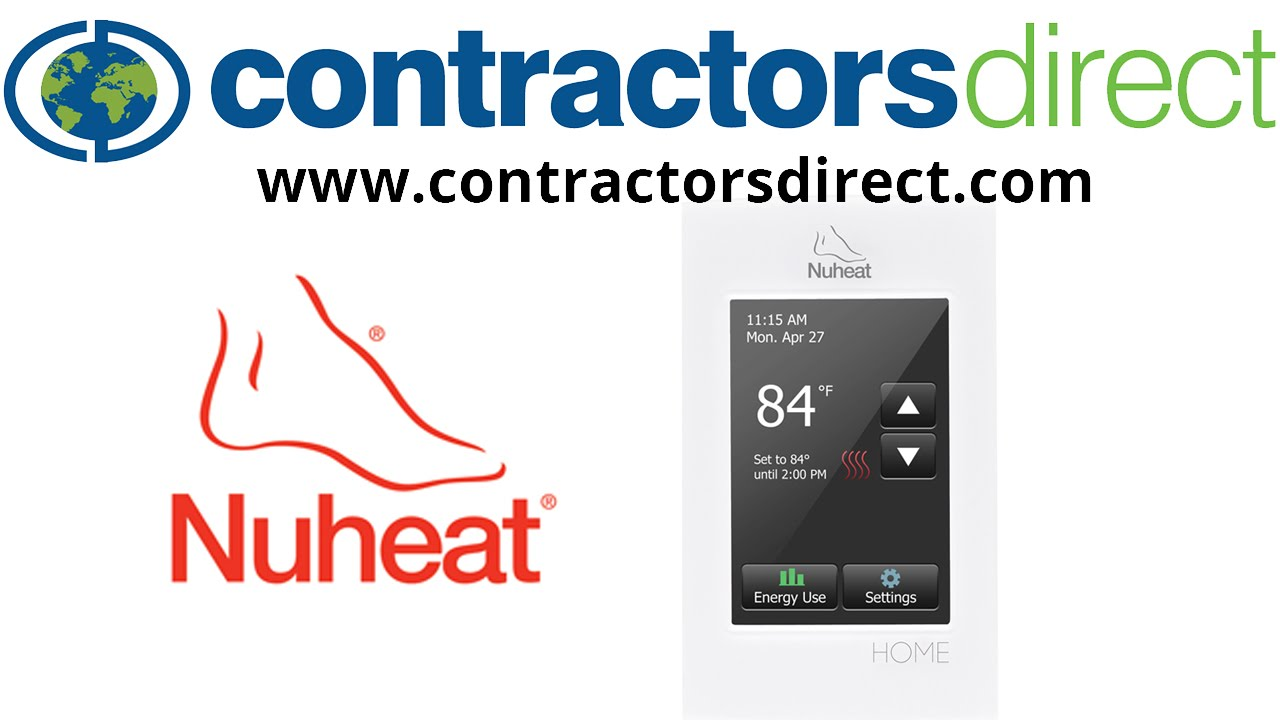maxresdefault nuheat signature floor heating wifi programmable thermostat 120 nuheat relay wiring diagram at mifinder.co