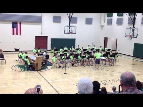 Westlake Lee Burneson Middle School Band Camp 2014
