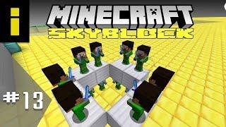 Sponge Overload! - SkyBlock Season 1 - EP13 (Minecraft)