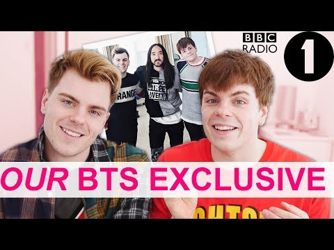 BBC Radio 1: Steve Aoki BTS EXCLUSIVES + Adele Roberts Documentary