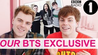 BBC Radio 1 Steve Aoki BTS EXCLUSIVES Adele Roberts Documentary