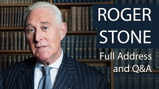 Roger Stone | Full Address and Q&A | Oxford Union