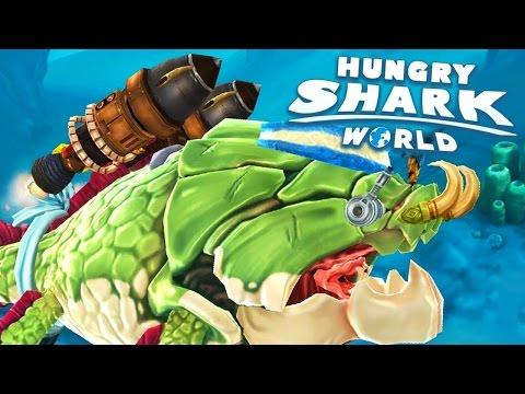 NOVO PROPULSORES 4.0! - Hungry Shark World #47 (HSW) - NOVO TUBARÃO!