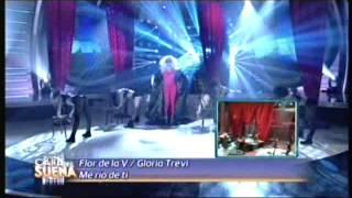 Florencia de la V es Gloria Trevi en tu cara me suena