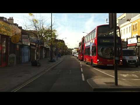 London Streets (596.) - Elephant & Castle - Camberwell - East Dulwic - Forest Hill