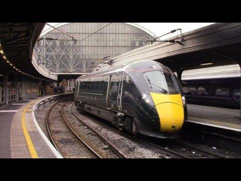Trains at London Paddington, GWML - 24/10/17