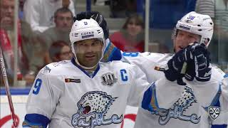 Barys 5 Vityaz 1, 10 September  2017 Highlights