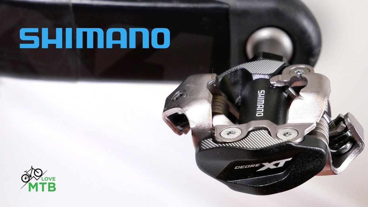 2019 Shimano XTR Trail PD-M9120 SPD Mountain MTB Clipless Pedals w// Cleats