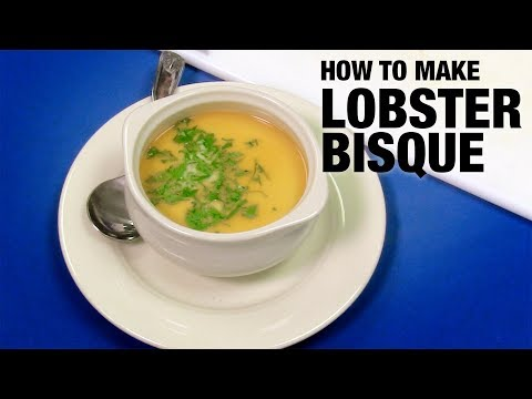 How to make a Lobster Bisque