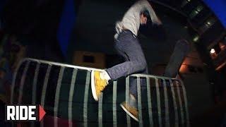 TERRIBLE SACK!! Skateboarding Slam - Andy Coleman