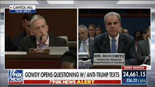 Trey Gowdy - IG Report - The Facts