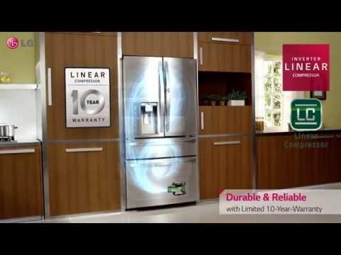 LG Door-in-Door® Refrigerator with CustomChill™ Drawer
