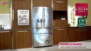 LG Door-in-Door® Refrigerator with CustomChill™ Drawer