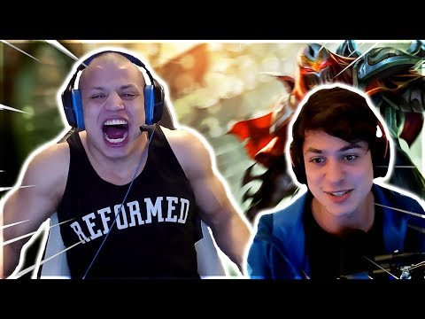 TYLER1 - THE NEXT FACE OF ZED | LL Stylish Shows Off His Zed Skills | Nightblue3 Secret Voice | Zwag
