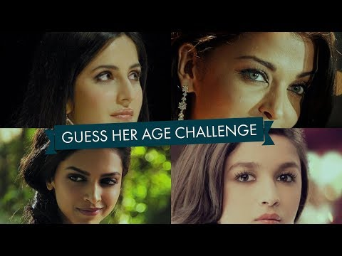 Thumbnail: Guess Her Age Challenge (Bollywood Actress)