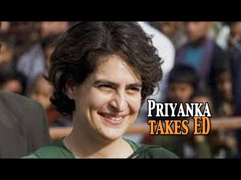 Priyanka Gandhi takes a dig at the Enforcement Directorate NewspointTv