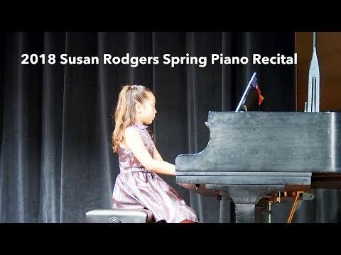 Susan Rodgers' Piano Studio - 2018 Spring Piano Recital