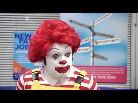 The Keith Lemon Sketch Show - Ronald McDonald gets a new job