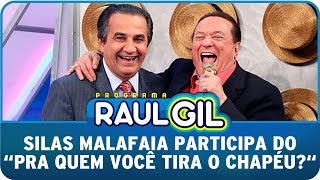 Programa Raul Gil (22/11/14) - Pra quem Silas Malafaia tira o chapéu?