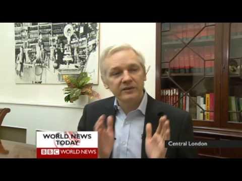 Julian Assange vs Zeinab Badawi