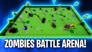 ZOMBIES BATTLE ARENA! 🧟🔥 | Fortnite: Battle Royale