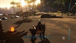 【ARK PS4Pro】エクウステイム一部始終 足跳ねたら△で餌やり【SURVIVAL EVOLVED】