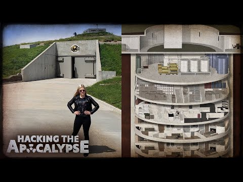 Inside the doomsday bunker for the super rich