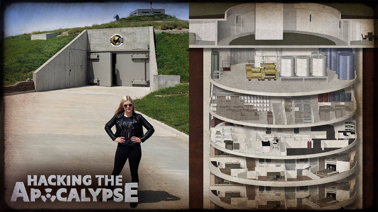 Inside The Doomsday Bunker For The Super Rich Youtube