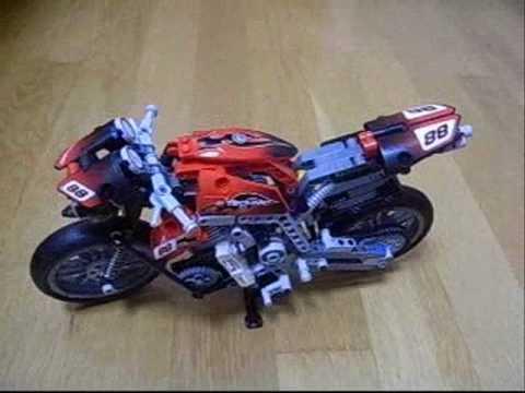 lego technic 8051 motor bike youtube. Black Bedroom Furniture Sets. Home Design Ideas