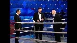 Олесь Бузина VS Олег Ляшко на ринге в 'Большой политике'