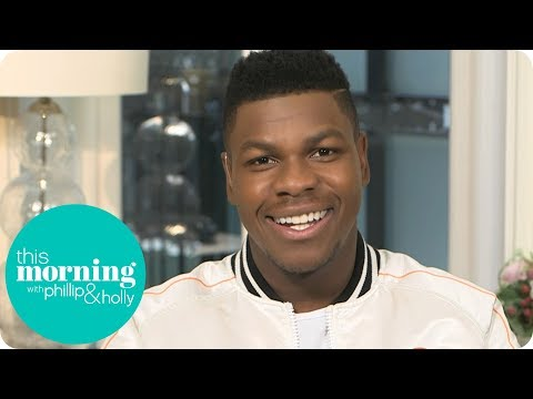 John Boyega Was Intimidated Fighting Gwendoline Christie in Star Wars: The Last Jedi | This Morning