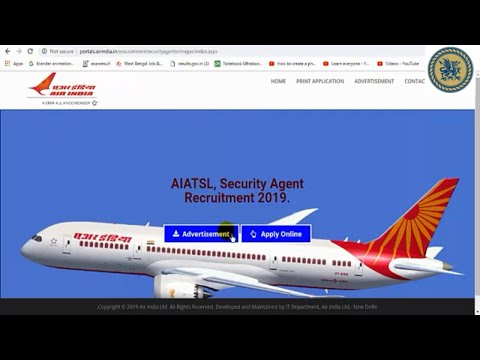 New job. Security Agents Jobs in Air India Air Transport Services Limited (AIATSL)