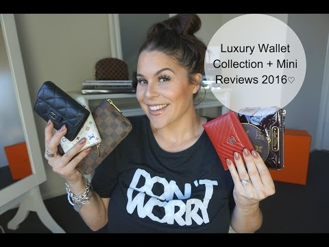 Luxury Wallet Collection + Mini Reviews 2016♡
