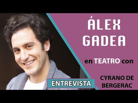 Álex Gadea de gira teatral con Cyrano de Bergerac